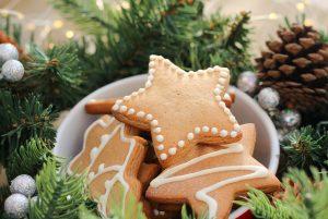Lukrowane pierniki jako prezent świąteczny