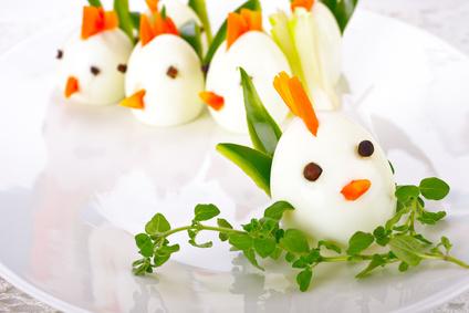 kurczaczki z jajek