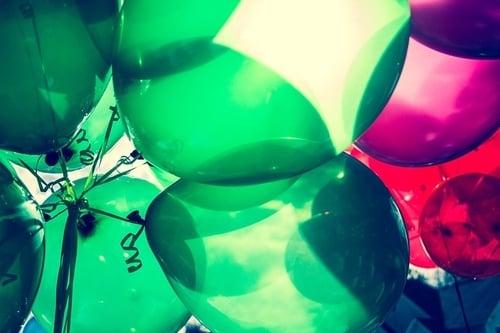 zabawa baloniku mój malutki